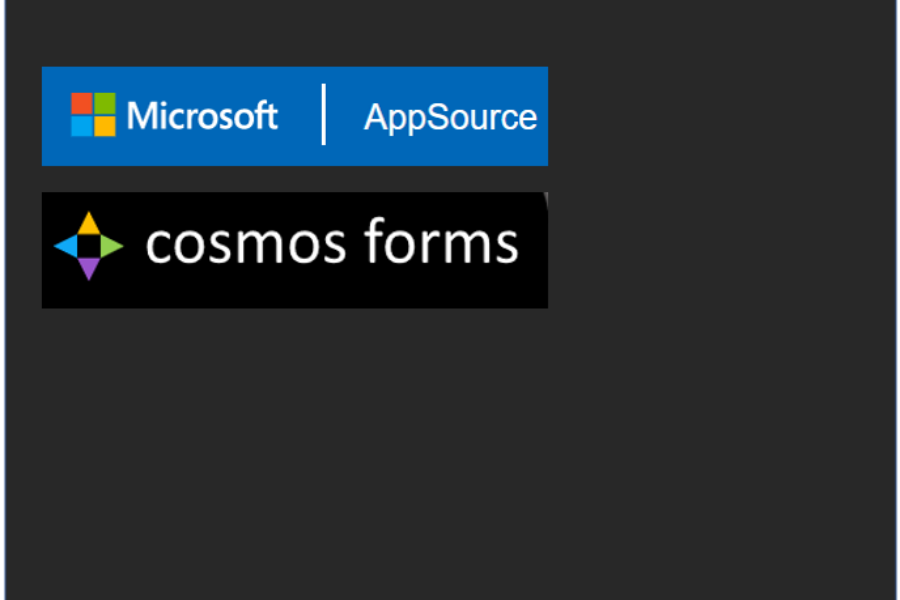 Cosmos Forms can be found in Microsoft AppSource