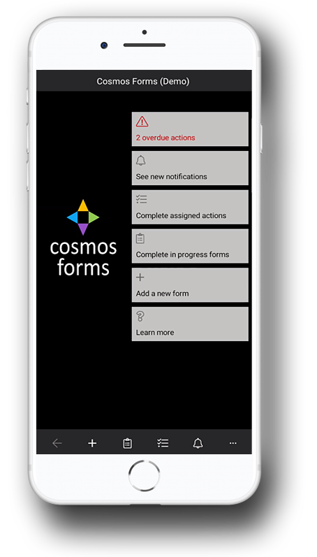 COSMOS FORMS | Support